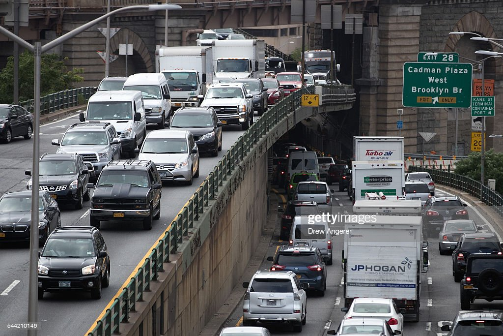 Fourth Of July Holiday Weekend Travel To Be Busiest In At Least 16 Years : News Photo