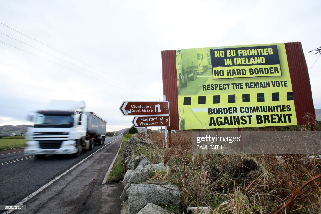 FILES-BRITAIN-EU-BREXIT-IRELAND : News Photo