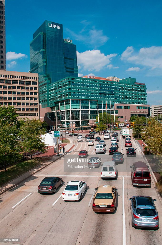 Traffic, downtown Baltimore, Maryland  News Photo - Getty Images