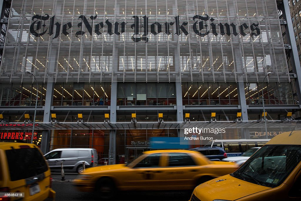 The New York Times Announces Cuts To Newsroom Staff : News Photo
