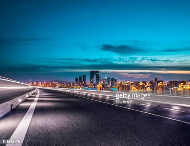 Traffic expressway, City traffic