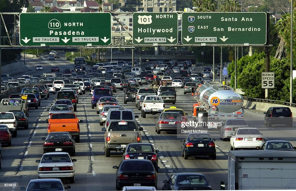 Study Declares Los Angeles to Have Nation's Worst Traffic : News Photo