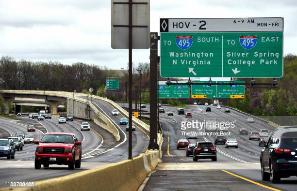 Traffic flows along interchanges that link I495 and I270 April 16 2018 in Bethesda MD Senior Maryland transportation officials have used an expedited...