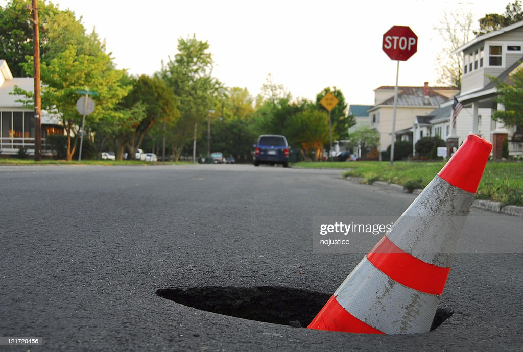 Traffic Hazard : Stock Photo