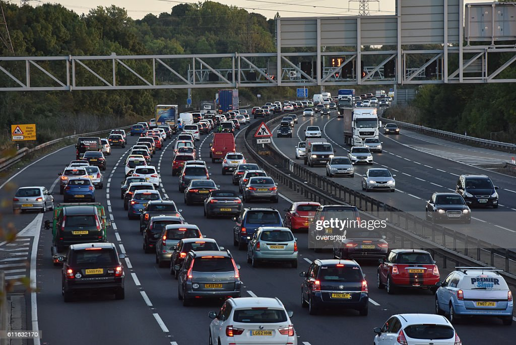 Traffic hold up : Stock Photo