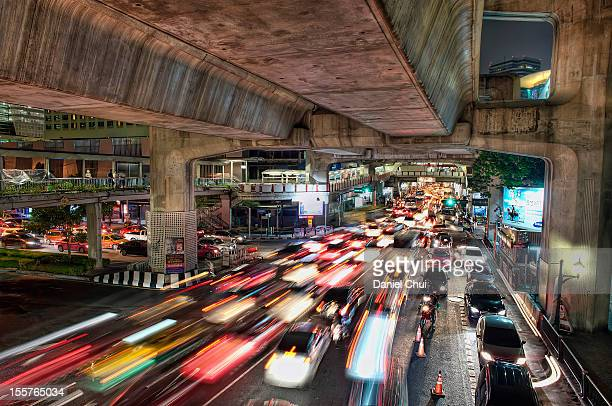 Traffic in Bangkok, Thailand