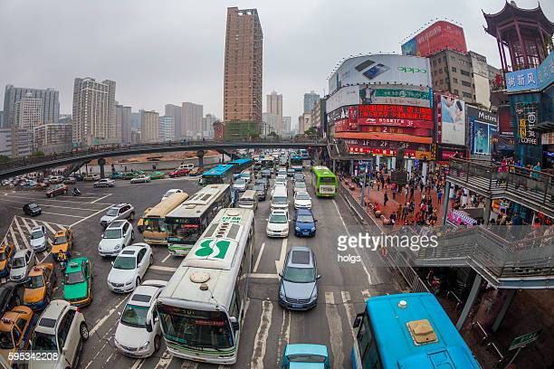 Traffic in Changsha, China