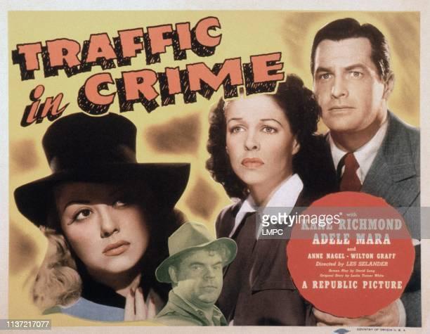 Traffic In Crime Us Lobbycard from left Adele Mara Wade Crosby Anne Nagel Kane Richmond 1946