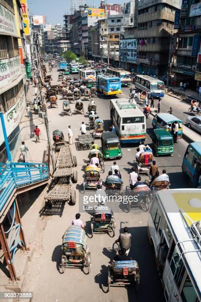 Traffic in Dhaka