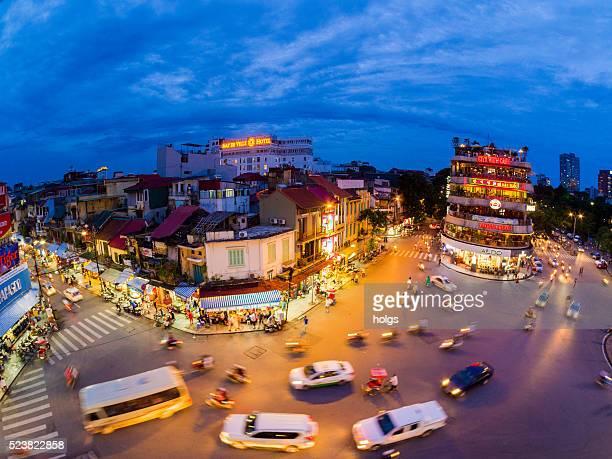 Traffic in Hanoi, Vietnam
