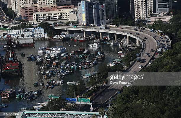 Traffic in Hong Kong on May 31 2013 in Hong Kong