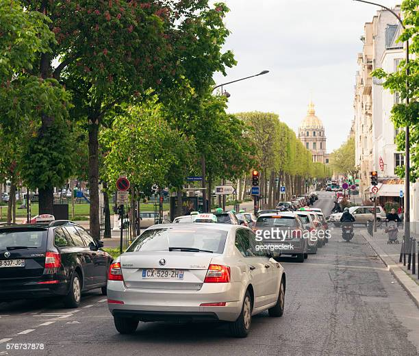Traffic in Montparnasse, Paris