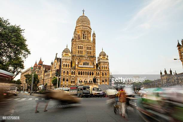 traffic in mumbai - mumbai stock pictures, royalty-free photos & images