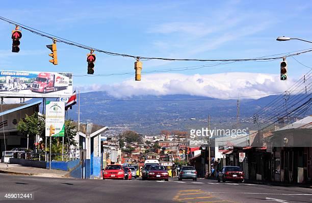 Traffic in San Jose Costa Rica