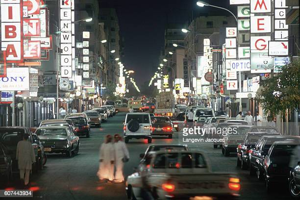 Traffic in Saudi Arabia