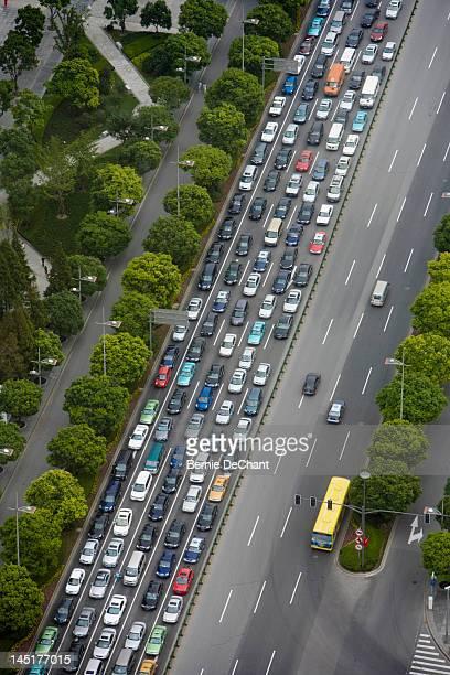Traffic in Shanghai