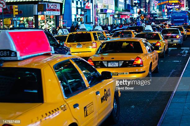 Traffic in Times Square