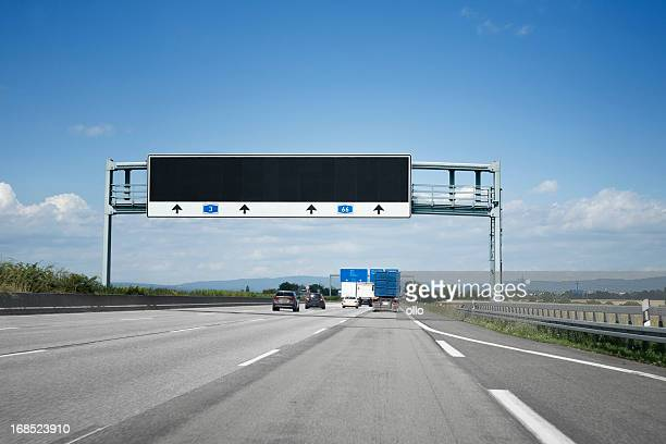 Traffic information system on german autobahn A3