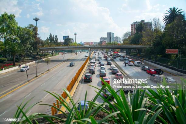 traffic jam at mexico - leonardo costa farias stock photos and pictures