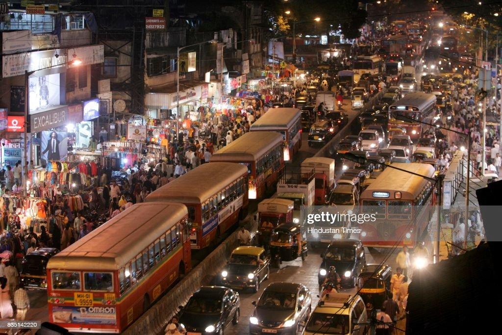 Traffic Jam at SV Road in Andheri.