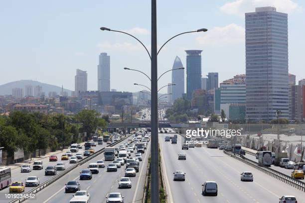 トラフィックジャムイスタンブールで