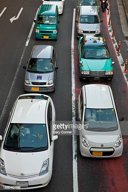 Traffic jam in Shibuya