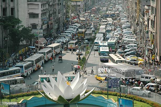 A traffic jam in the capital city of Bangladesh in the Motijhil area Traffic congestion is a daily part of life in the crowded capital Dhaka...