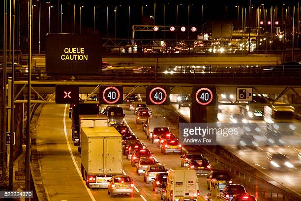 Traffic Jam on M42