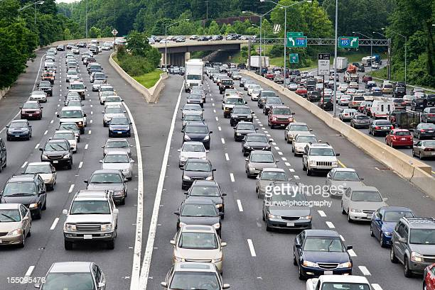 traffic jam - traffic stock pictures, royalty-free photos & images