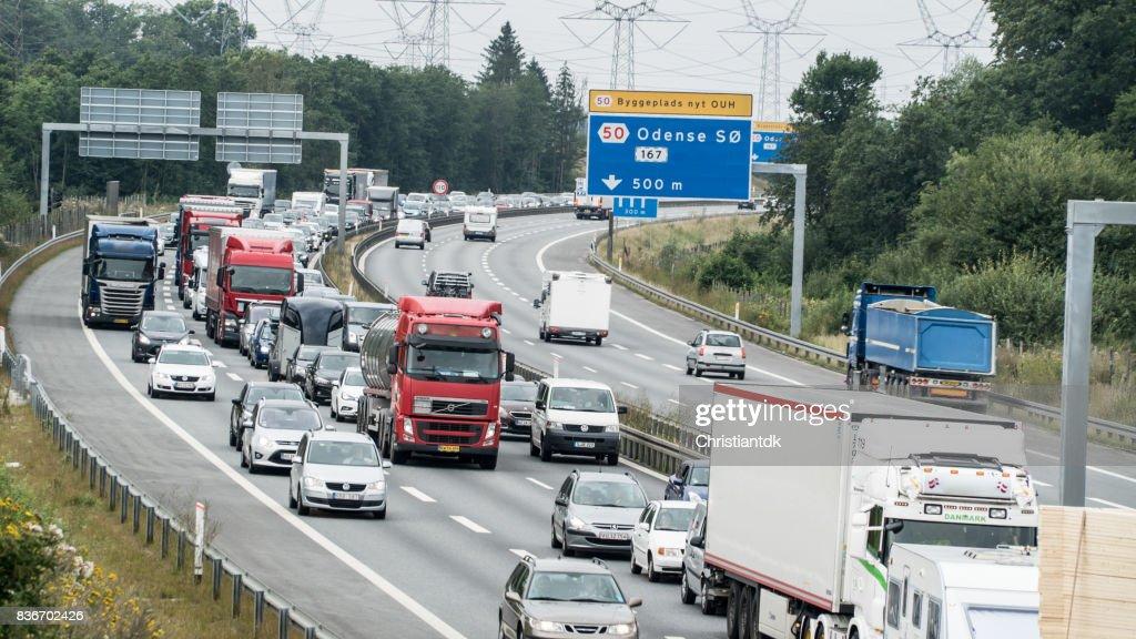 Traffic jam : Stock Photo