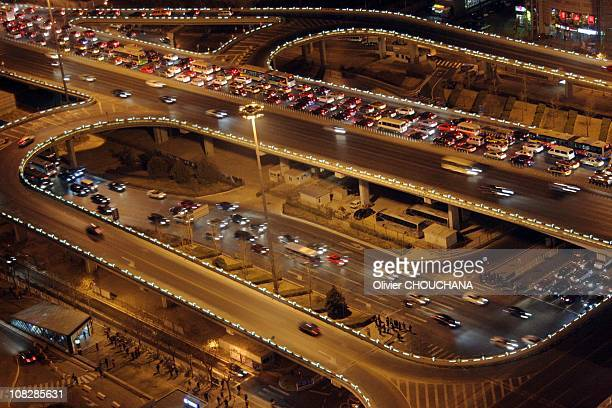 Traffic jams are seen at peak hours on January 07 2011 in Beijing China