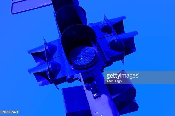 Traffic light. Berlin, Germany