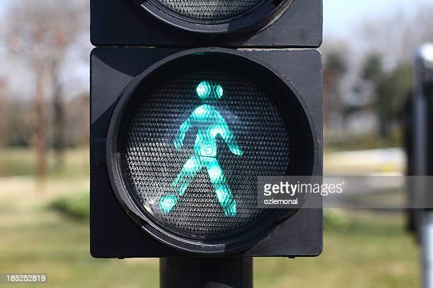 traffic light - pedestrian stock pictures, royalty-free photos & images