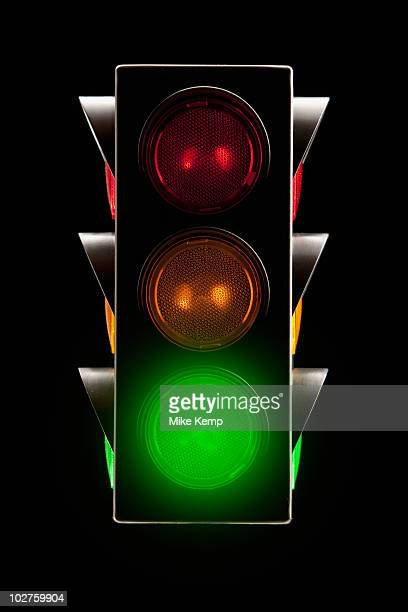 traffic lights - road signal stock pictures, royalty-free photos & images