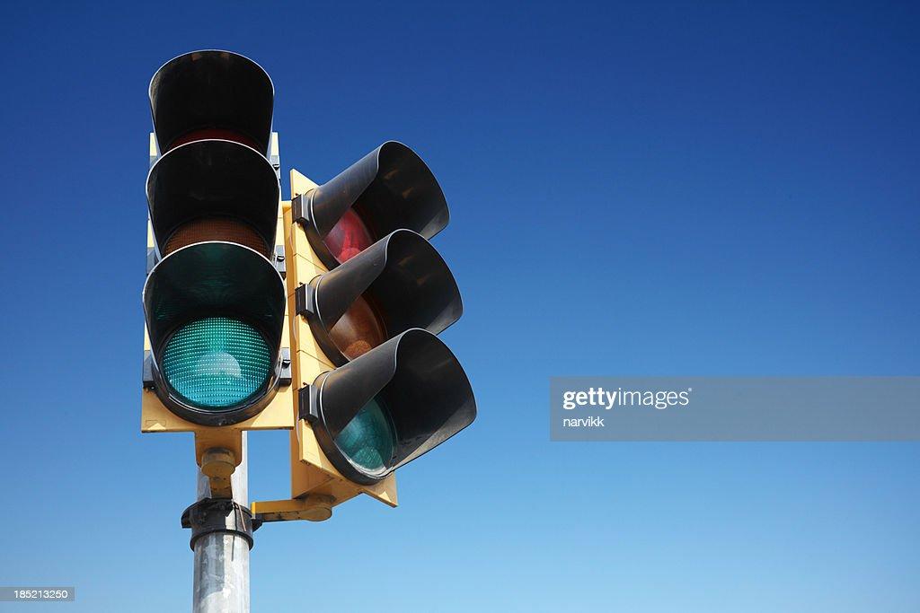 Traffic lights : Stock Photo