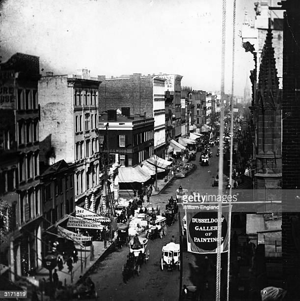 Manhattan New: 1850s Manhattan Stock Photos And Pictures