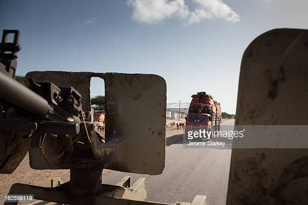 CONTENT] Traffic on the road between Afgoye and Mogadishu in Somalia May 30 2012 Thousands of AMISOM troops from Uganda and Burundi launched an...