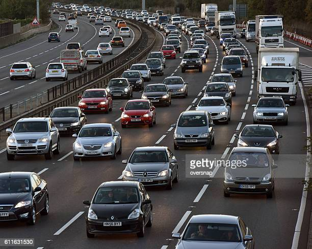 traffic - multiple lane highway stock pictures, royalty-free photos & images