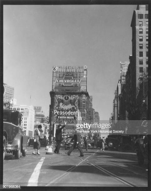 Traffic Policeman Duffy Square Broadway and Seventh Avenue New York New York 1929