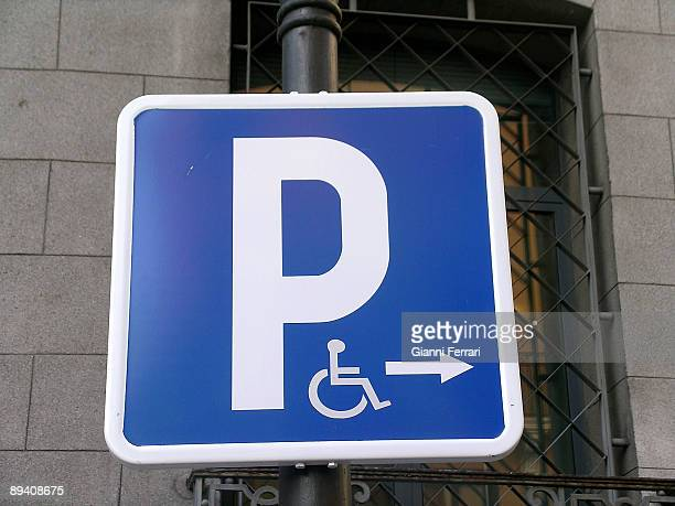 Traffic signals Handicapped parking