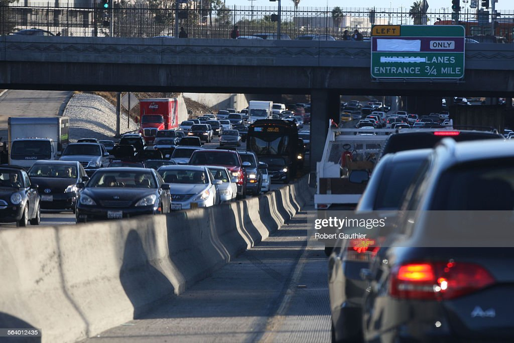 Downtown La Motors >> November 9 2012 Traffic Snarls Through Downtown La On The