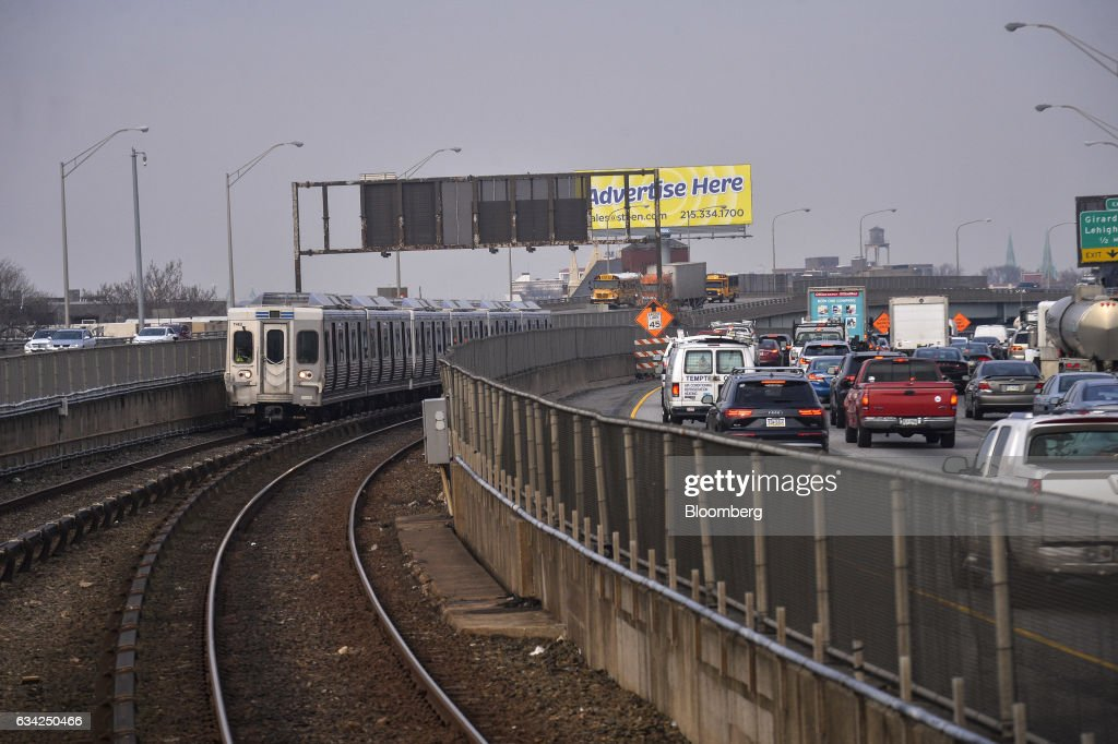 Service With The Southeastern Pennsylvania Transportation Authority During Car Shortage : News Photo