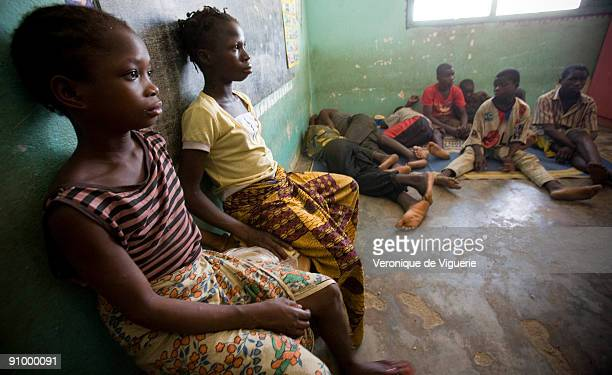 11 trafficked children were arrested by the police at the border between Burkina Faso and Ivory Coast They were going to be exploited in cocoa...
