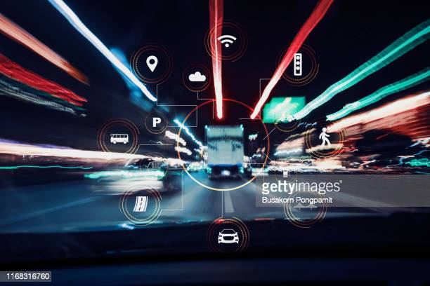 traffict,vehicles, wireless communication network, internet of things, abstract image visual. - autonomous technology stock pictures, royalty-free photos & images