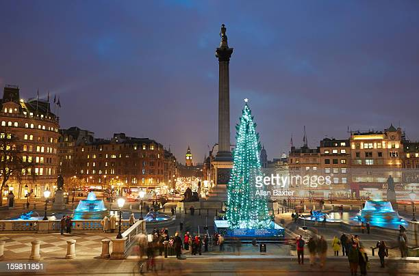 Traflager square at Christmas
