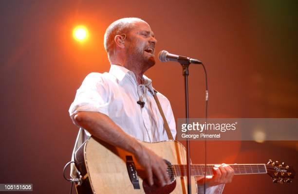 Tragically Hip during SARS Concert for Toronto 2003 at Skydome in Toronto Ontario Canada