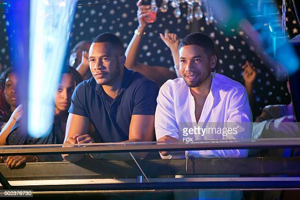 Trai Byers and Jussie Smollett in the A High Hope For A Low Heaven episode of EMPIRE airing Wednesday Nov 4 on FOX