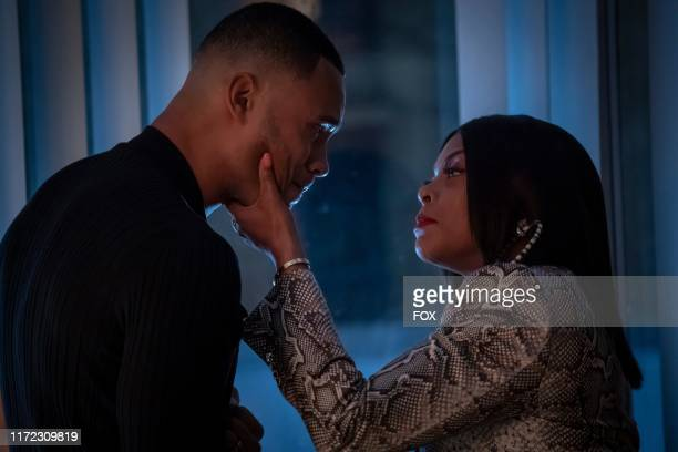 Trai Byers and Taraji P Henson in the Got on My Knees to Pray episode of EMPIRE airing Tuesday Oct 1 on FOX