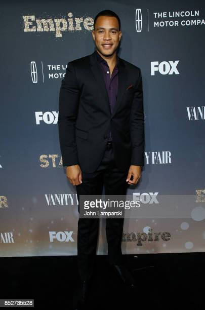 Trai Byers attends Empire Star celebrate FOX's New Wednesday Night at One World Observatory on September 23 2017 in New York City