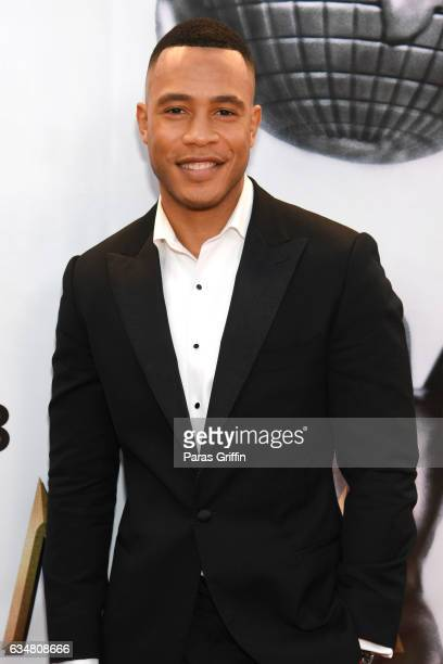 Trai Byers attends the 48th NAACP Image Awards at Pasadena Civic Auditorium on February 11 2017 in Pasadena California